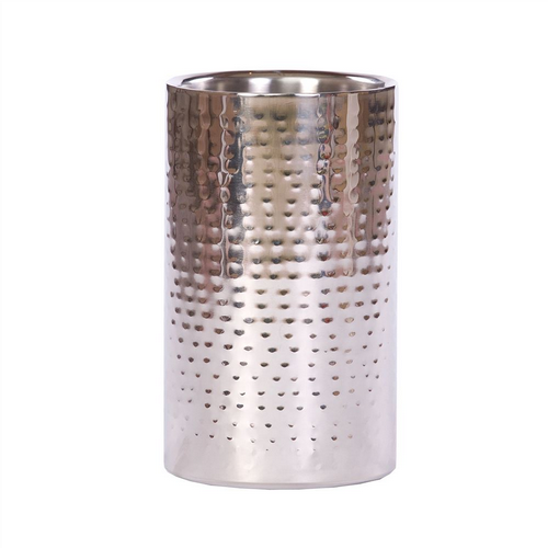 Hammered Steel Wine Cooler